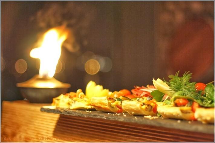buffet, saunabereich, 25hours-hotel hafencity