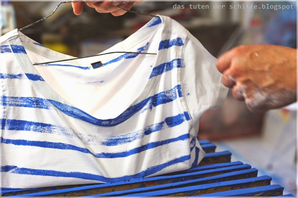 making of, maritimes t-shirt
