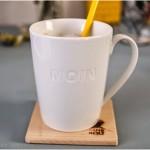 auf ins wochenende! mit `nem samstagskaffee – in meiner neuen MOIN-tasse…