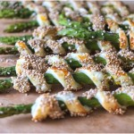 grüner spargel in blätterteig – fingerfood aus meiner kömbüse