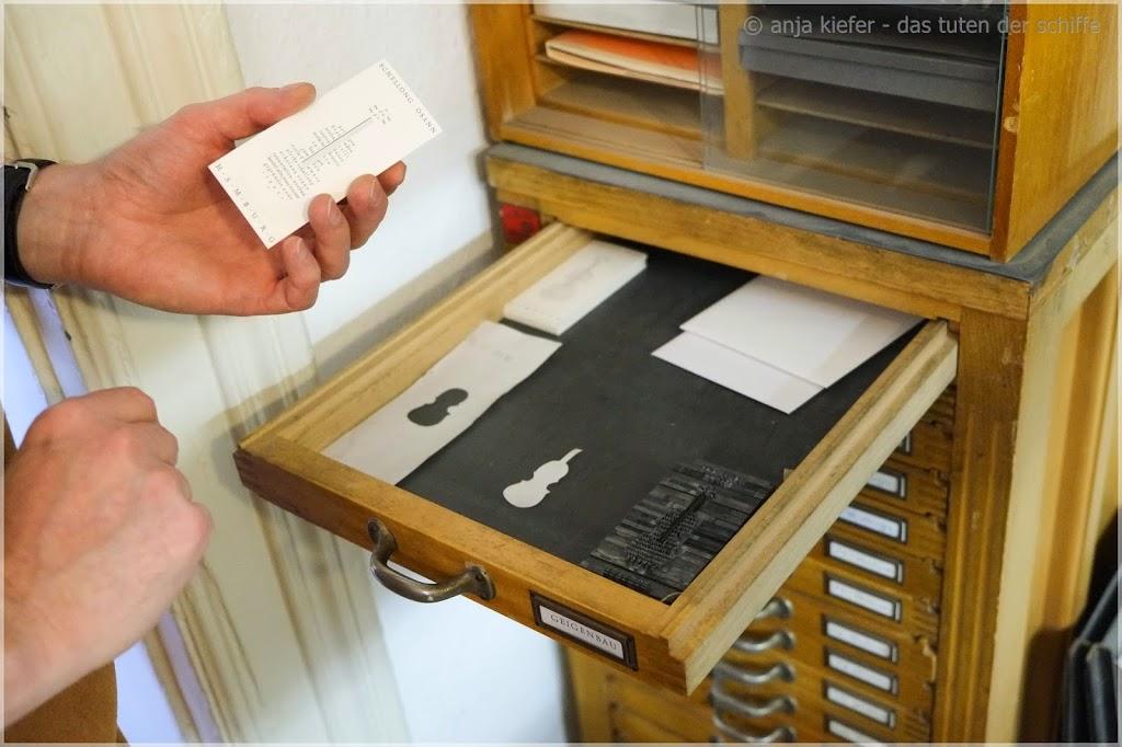 kunstvoller schriftsatz, handsatzdruckerei- eimsbüttel, hamburg, graht & kaspar