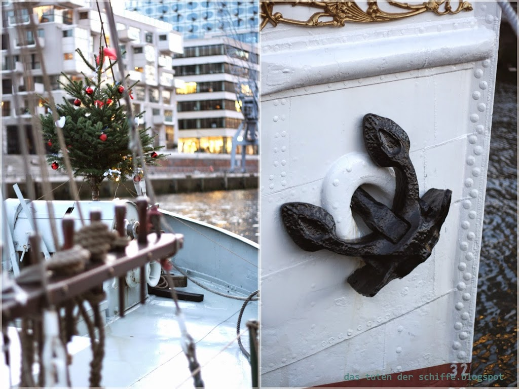 Weihnachtsbilder Hamburg.Meine Weihnachtsbilder Von Tannenbäumen Auf Hamburger Schiffen