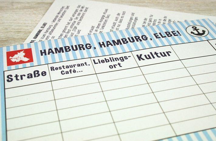 spielblock für stadt land fluss, für hamburg