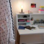 großstadtwohnung! – bedroom-make-over: mein stylischer neuer arbeitsplatz im schlafzimmer