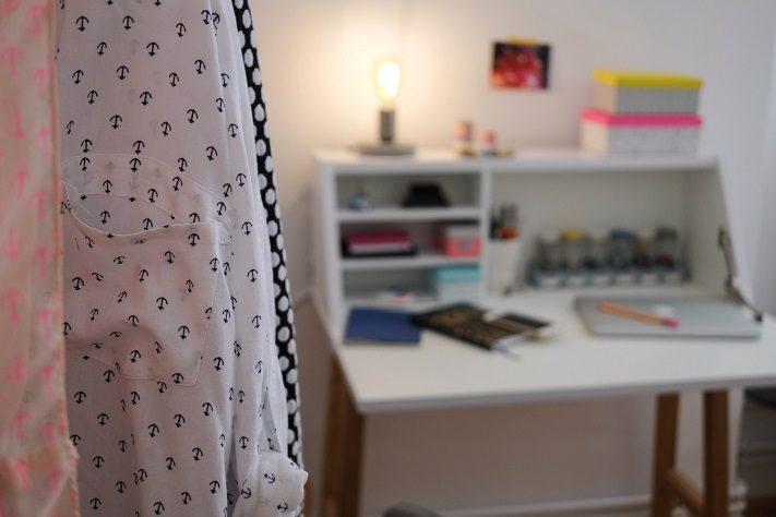 schlafzimmer-make-over , arbeitsplatz im schlafzimmer