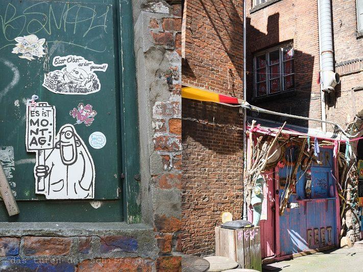 das hamburger gängeviertel früher und heute