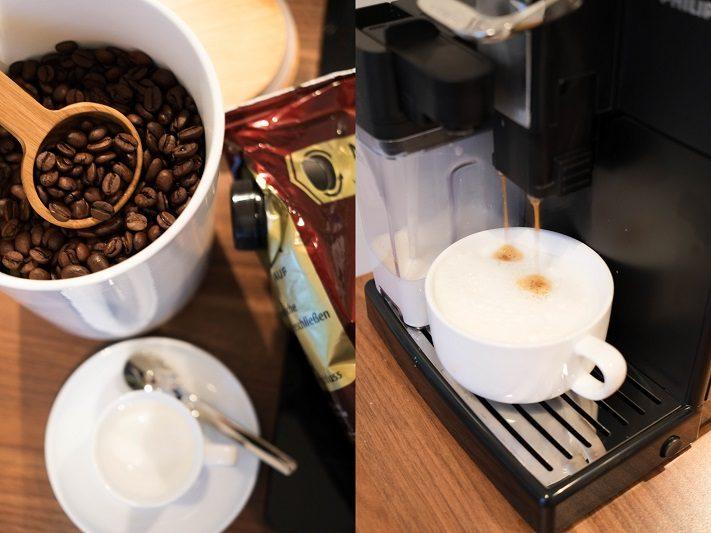 tchibo frischepack und laffeevollautomat