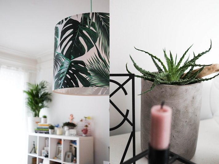 urban jungle lampe für altbaudecke