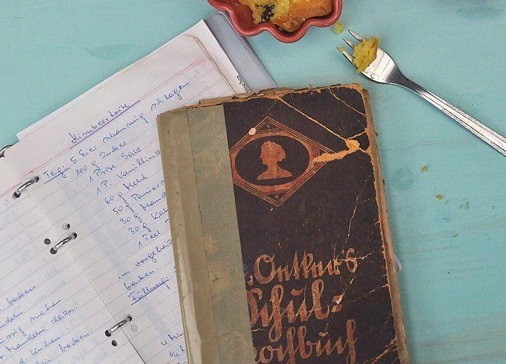 herz-dinge-projekt: handgeschriebene rezeptsammlung