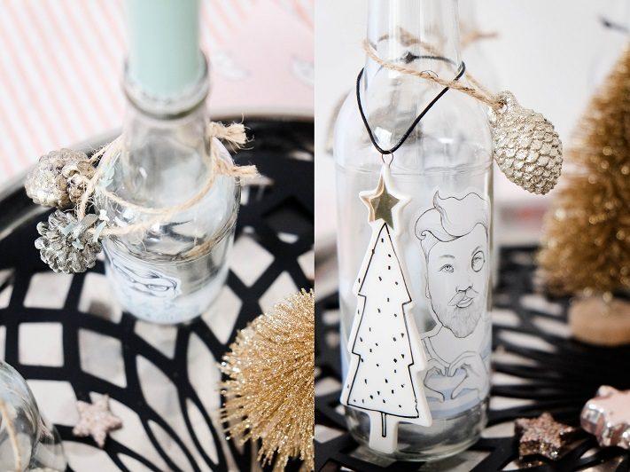 upcycling hipsteradventskranz aus glaschflaschen