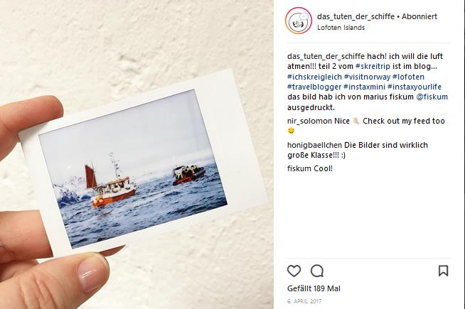 instagram - pressereise -lofoten