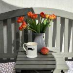 sommersalon // mein balkonwohnzimmer für den hamburger sommer + bienenhotel-diy