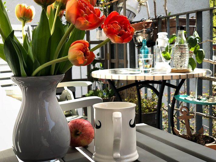 mosaiktisch für balkon